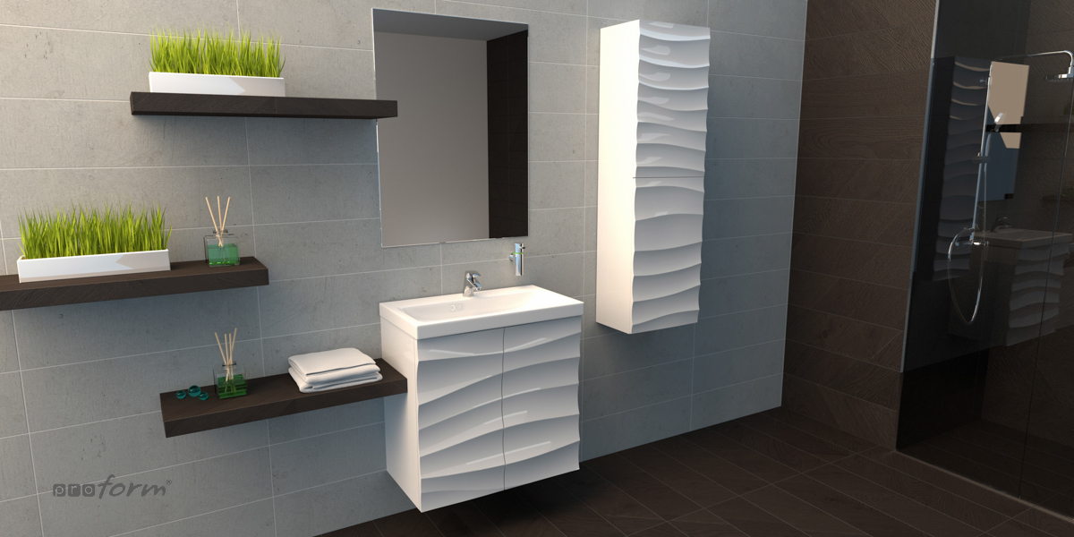 Produkty Gotowe Meble łazienkowe Meble łazienkowe Wave